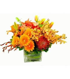 Rich Fall Floral Bounty