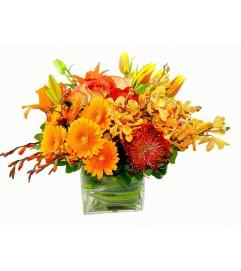 Rich Fall Floral Bounty