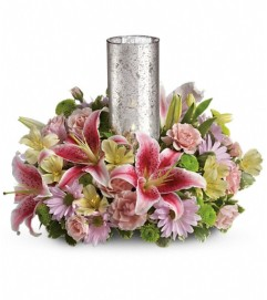 Just Delightful Centerpiece by Teleflora