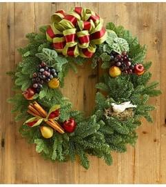 Fruitful & Festive Evergreen Wreath™