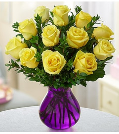 Radiant Rose Bouquet™ - Yellow