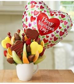 Sentimental Valentine™ with Balloon