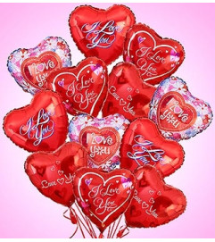 Air-Rangement® - Love & Romance Mylar Balloon