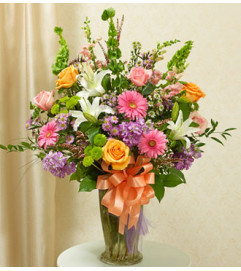 Beautiful Blessings Vase Arrangement - Pastel