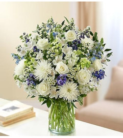 Ultimate Elegance™ - Blue and White