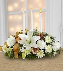 Elegant Candle Centerpiece