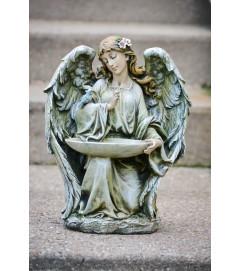 Kneeling Bird Feeder Angel
