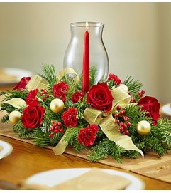 All Red Centerpiece