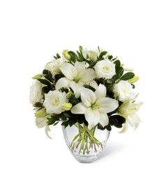 The FTD® White Elegance™ Bouquet