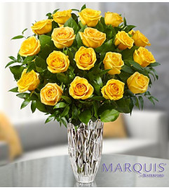 Marquis by Waterford® Premium Yellow Roses -