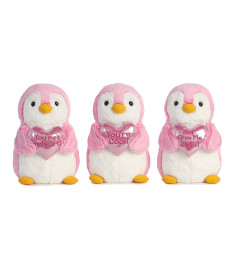 Plush Valentine Penguin