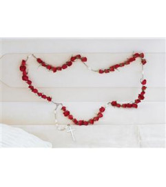 ROSARY OF 50 SMALL ROSES