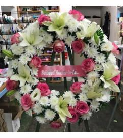 My Fair Lady Wreath