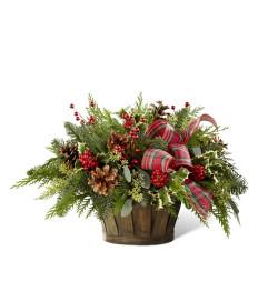 The FTD® Holiday Homecomings™ Basket