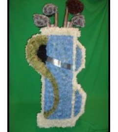 Funeral Custom Golf Clubs Sympathy Piece