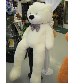 Jumbo White Teddy Bear