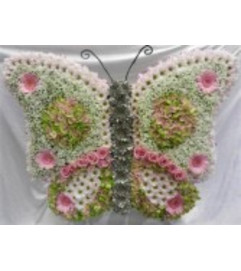 Funeral Custom Butterfly Sympathy Piece