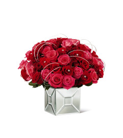 The FTD® Blushing Extravagance™ Luxury Bouquet by Kalla™