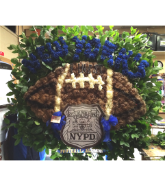 Funeral Custom Football Sympathy Piece