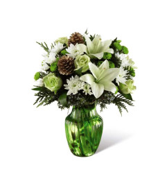 The FTD® Holiday Bliss™ Bouquet