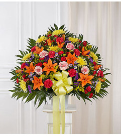 Heartfelt Sympathies™ Bright Standing Basket