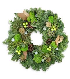 Harmonious Holiday Wreath