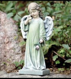 WEEPING ANGEL FIGURINE