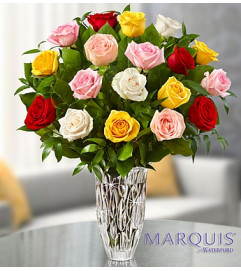 Marquis by Waterford® Mixed Roses