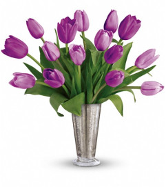 Tantalizing Tulips Bouquet by Teleflora
