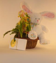 Small Easter Bunny Basket