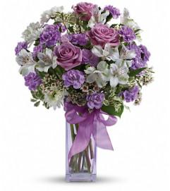 Teleflora's Lavender Laughter Bouquet