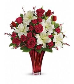 Love's Passion Bouquet by Teleflora