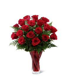 The FTD® In Love with Red Roses™ Bouquet for Valentines