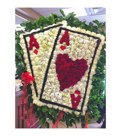 Funeral Custom Pocket Ace Sympathy Piece