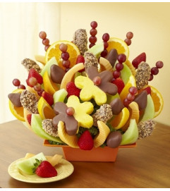 Autumn Orchard Fruit Bouquet