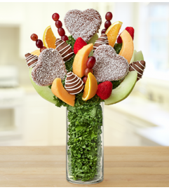 Personalized Vase Fruit Arrangement – Chocola