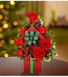Shimmering Bright Holiday Gift Box