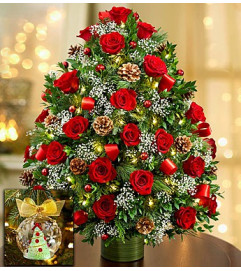 Holiday Flower Tree® Luxury - Red