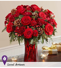 Merry in Red™ Bouquet