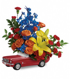 Living The Dream '65 Ford Mustang by Teleflora