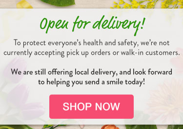 Announcement of delivery-only policy due to Coronavirus concerns - flower delivery in Santa Clarita
