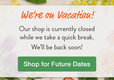 We're on vacation! - flower delivery in Bowmanville