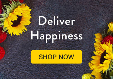 Sunflowers and autumn flowers on a dark background - flower delivery in Lake Worth