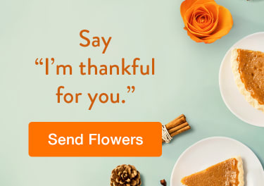 Celebrate Thanksgiving with a beautiful arrangement - flower delivery in Brampton