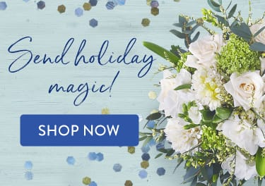 White arrangement of flowers for winter gifting - flower delivery in Mount Pleasant