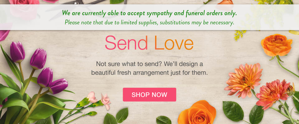 Sympathy and Funeral deliveries - flower delivery in Tiffin