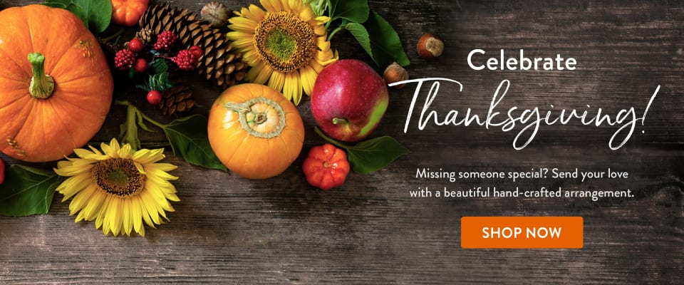 Celebrate Thanksgiving with a beautiful arrangement - flower delivery in Massillon