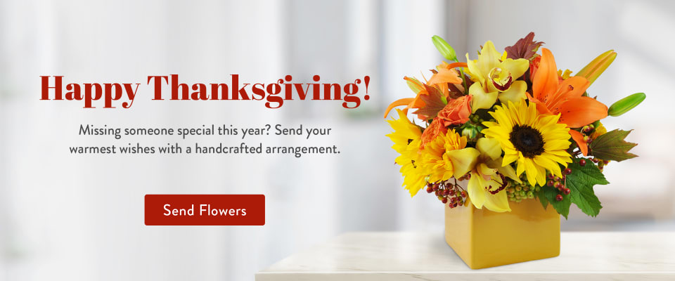 Celebrate Thanksgiving with a beautiful arrangement - flower delivery in Arlington