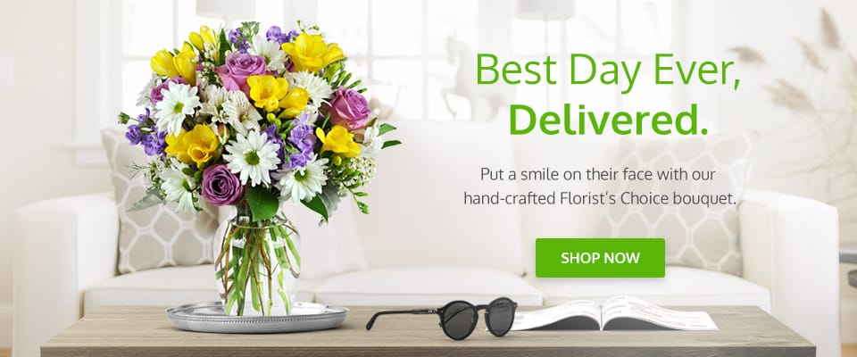 Flower delivery in Jersey City   image