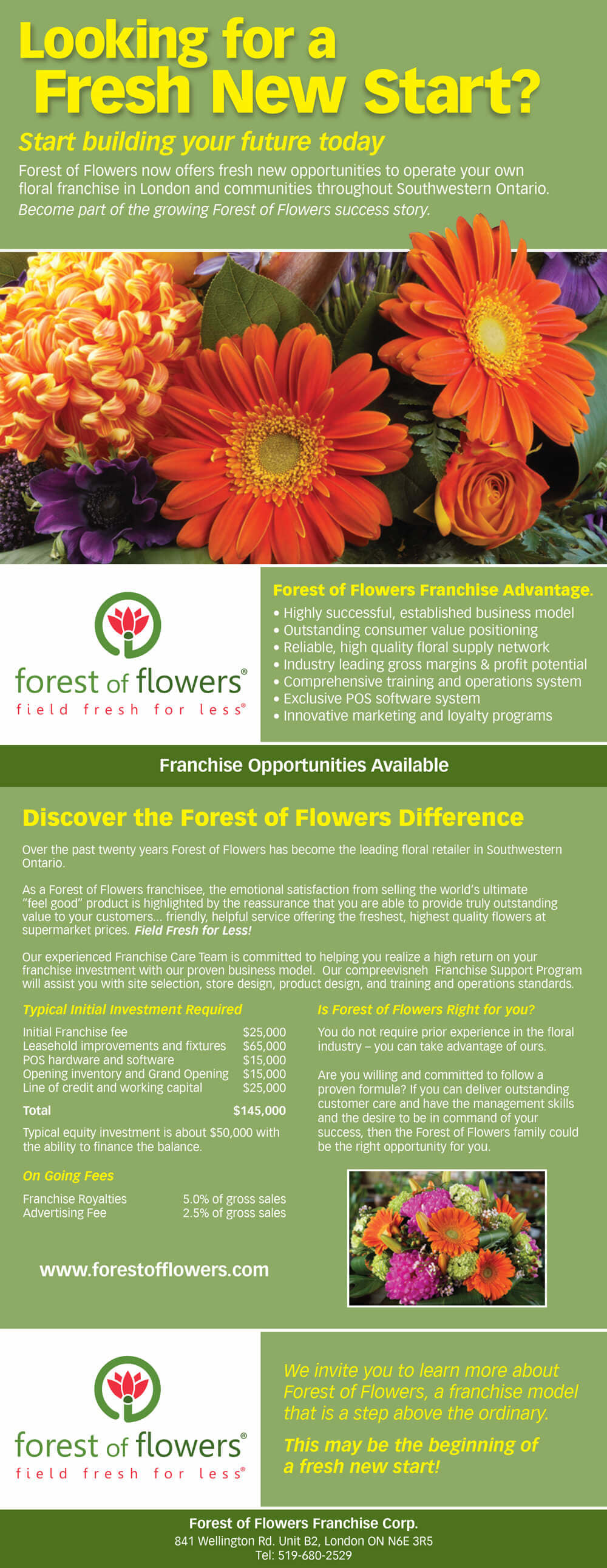 FOF Franchise Brochure
